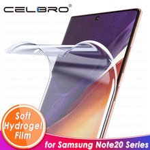 Hydrogel Film for Samsung Galaxy Note 20 Ultra Screen Protector Soft Not Glass for Samsung Note 20 10 S20 Plus Protective Film