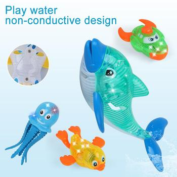 Promo Cartoon Tortoise Duck Animal Automatic LED Glowing Water Induction Kids Bath Toy Kids Educational Toys For Children Gift — stackexchange