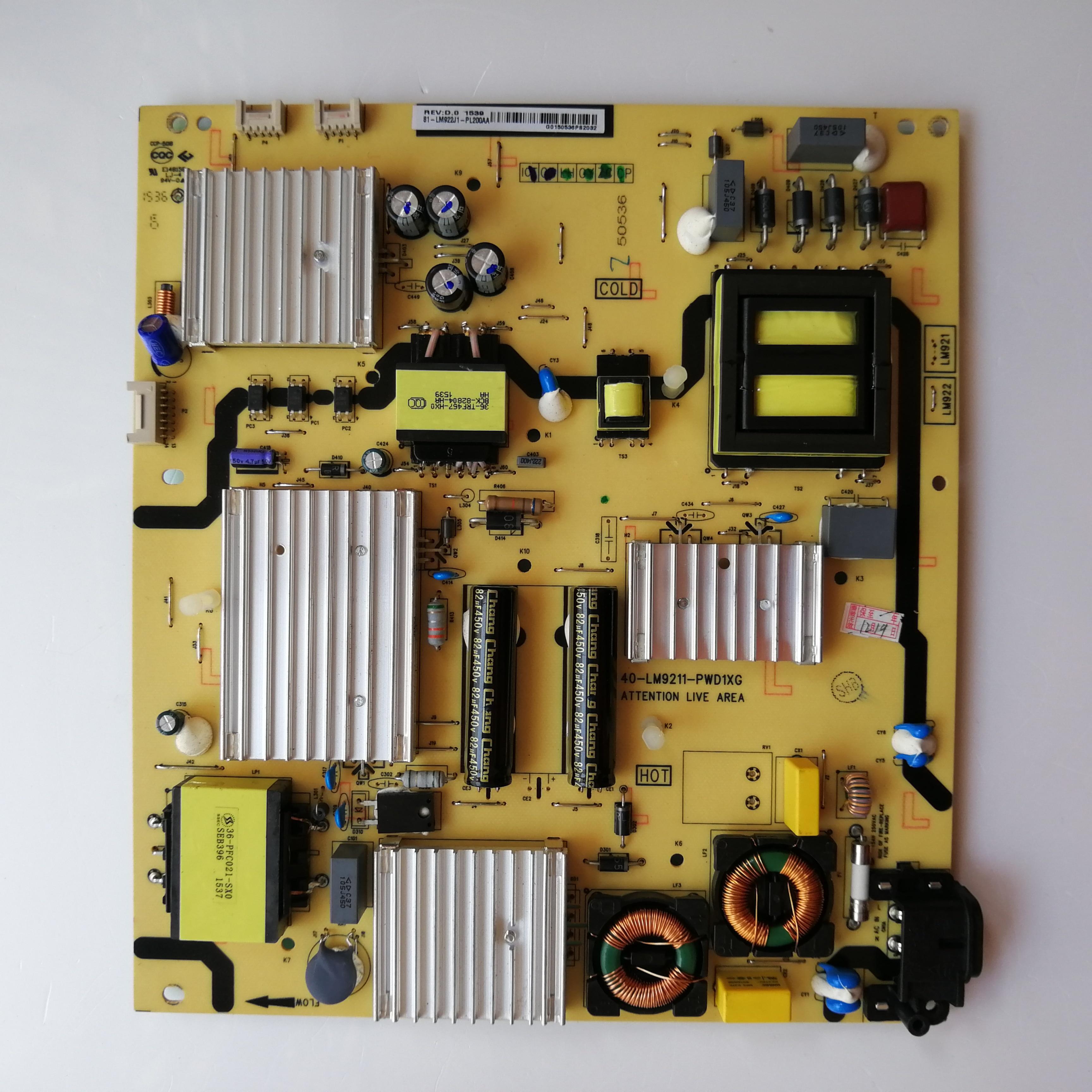 New Original Power Supply Board 81-LM922J1-PL210AA 40-LM9211-PWD1XG Good Working