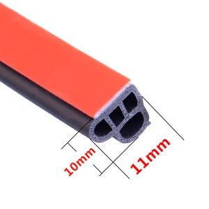 Image 5 - Joint détanchéité pour porte de voiture en caoutchouc, autocollant disolation phonique, pour garniture de coffre, de type L