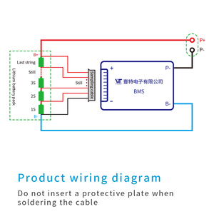 Image 5 - 4 s 12 v 3.2 v リチウム電池保護ボード温度等化過電流保護 bms pcb 15A 20A 30A 40A 50A 60A