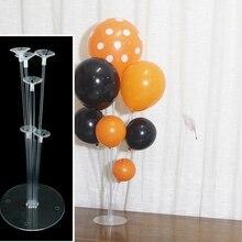 Горячие прозрачные шарики ко дню рождения палка DIY вечерние Декор латексный шар стол Плавающие Надувные буквы опорный стержень держатель баллона