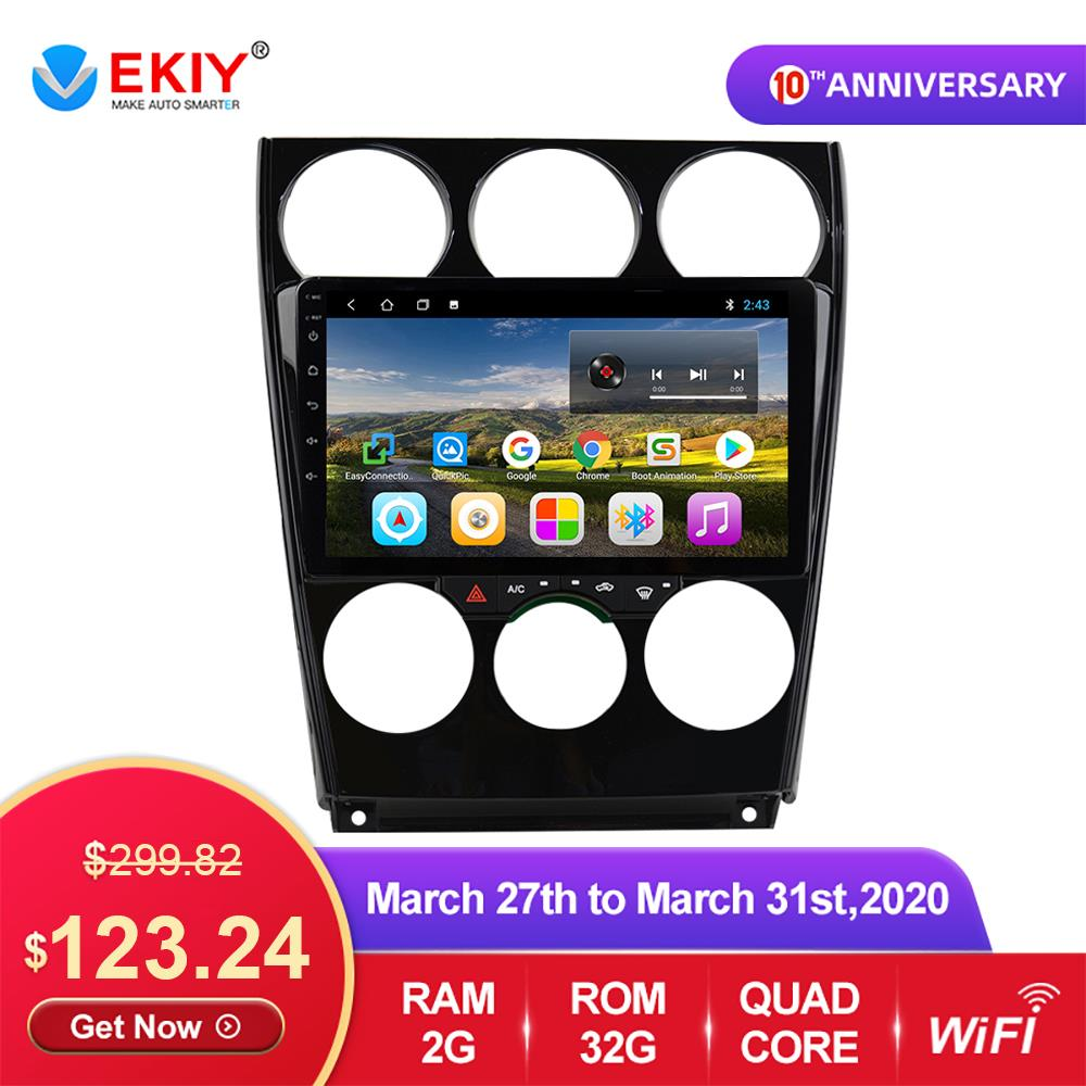 EKIY 9'' IPS <font><b>Android</b></font> 9.0 Car <font><b>Multimedia</b></font> Dvd Radio Player For <font><b>Mazda</b></font> <font><b>6</b></font> 2004-2014 Car Dvd Gps Navigation Auto Radio Stereo Player image