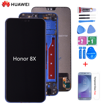 Оригинальный Для huawei Honor 8X JSN-AL00 JSN-L22 JSN-L21 полный ЖК-дисплей дисплей + кодирующий преобразователь сенсорного экрана в сборе Замена