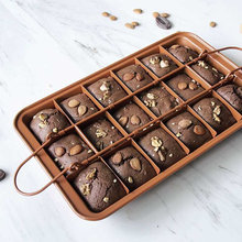Сковорода для выпечки коричневого цвета из углеродистой стали