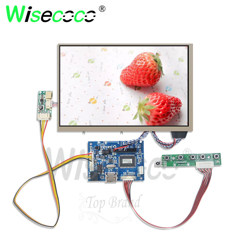 wisecoco 8.2 inch <font><b>Raspberry</b></font> <font><b>Pi</b></font> 3 LCD With HDMI lvds Screen <font><b>Display</b></font> Module For Pcduino Banana <font><b>Pi</b></font> 1280*800 image