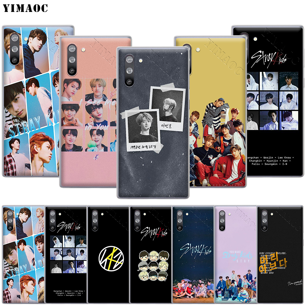 YIMAOC <font><b>Kpop</b></font> Stray Kids SKZ Phone Case for <font><b>Samsung</b></font> Galaxy A2 J4 <font><b>J6</b></font> J7 J8 Core Duo <font><b>Plus</b></font> Prime A20E A70S image