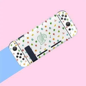 Image 2 - Pour Nintend Switch NS Joy Con coque de protection coque de boîtier pour les Fans de croisement danimaux accessoires de contrôleur de jeu