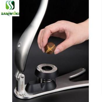 Prasa ręczna narzędzie do otwierania kasztanów nóż do otwierania kasztanów orzech ze stali nierdzewnej klips do kasztanów narzędzie do obierania kasztanów tanie i dobre opinie SANWOKI SA-0376 manual