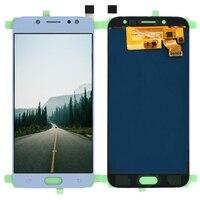 5.5 cala dla Samsung Galaxy J7 Pro 2017 J730 SM J730F J730FM/DS J730F/DS J730GM/DS wyświetlacz LCD + montaż digitizera ekranu dotykowego w Ekrany LCD do tel. komórkowych od Telefony komórkowe i telekomunikacja na