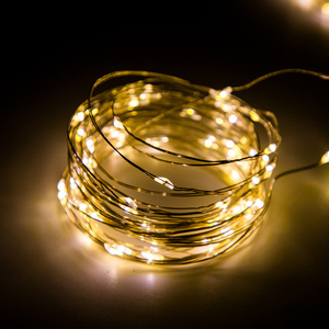 Image 5 - LED Curtain Lamp Garland White Copper String Light Remote Control USB fairy Curtain light Garland Bedroom Christma Light Outdoor