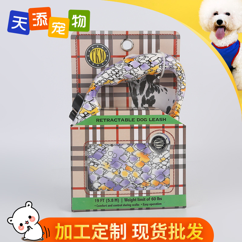 Automatic Telescopic Traction Belt Cat Medium-sized Dog Hand Holding Rope Pet Supplies
