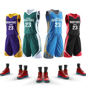 Piłka do koszykówki dla mężczyzn Jersey profesjonalne niestandardowe stroje do koszykówki dla mężczyzn szybkie suche ubrania do koszykówki strój do koszykówki dla dzieci odzież sportowa tanie i dobre opinie jianfei spandex Poliester Bez rękawów CN (pochodzenie) Oddychające Koszulki Koszykówka Pasuje prawda na wymiar weź swój normalny rozmiar