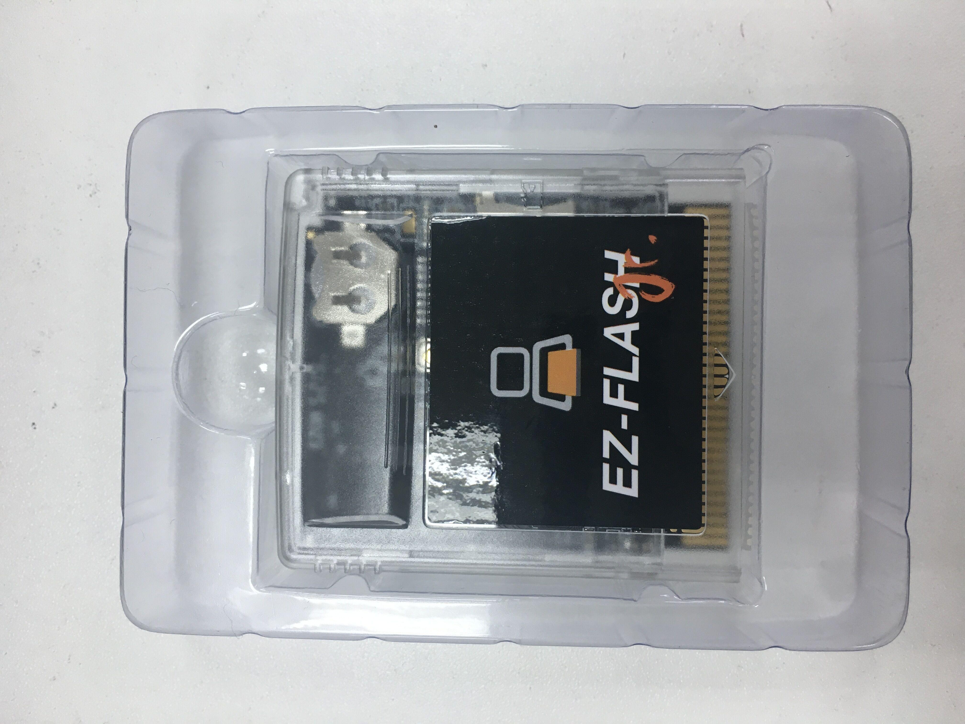 Игровой Картридж с часами в режиме реального времени для EZ-Flash Junior для игровой консоли GB/GBC, игровой картридж
