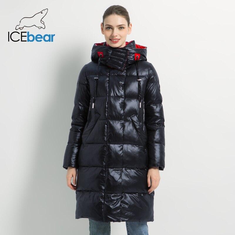 2019 Новая зимняя Женская куртка, модная женская хлопковая Высококачественная Женская парка с капюшоном, Женская куртка, брендовая одежда ...