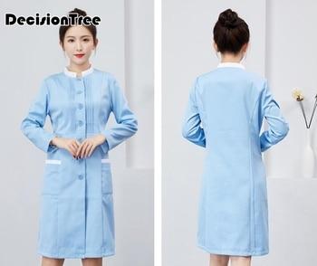 2020 print unisex medical surgical pharmacy nurse uniform scrub sets beauty salon sets spa uniform womens medical clothing