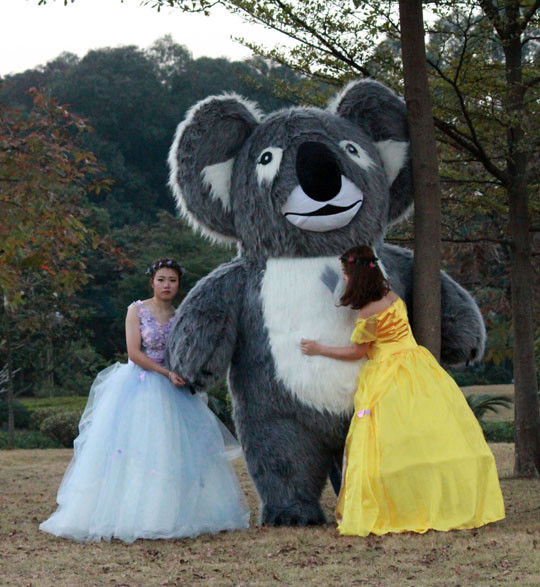 Advertising 2m/2.5m Koala Inflatable Costume Mascot Suits Cosplay Party Game Fancy Dress Parade Inflatable Costumes For Adults +