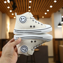 PandaQ Kids Childrens Canvas Shoes Boys Casual 2019 Autumn New Girls White Tide Toddler Boy Sneakers Tenis Infantil