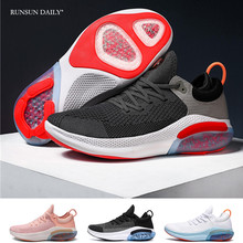 Fashion Women and Men Sneakers Outdoor Breathable Damping Running Shoes Air Cushion Sports Couples Gym Shoes
