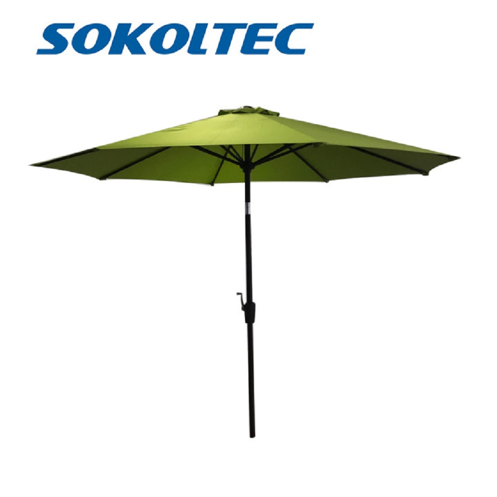 SOKOLTEC new cantilever outdoor garden terrace umbrellas waterproof and dustproof