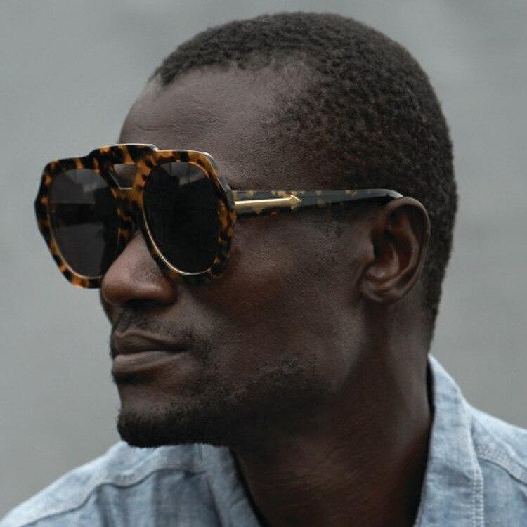 Мужские солнцезащитные очки, брендовые, дизайнерские, супер оправа, звезда, те же очки, мужские, модные, солнцезащитные, UV400