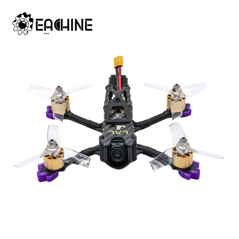 Eachine LAL3 145mm 3 Inch 3-4S FPV Racing Drone PNP Caddx Turtle V2 F4 1408 3750KV Motor 25A ESC 300mW VTX with HD Camera