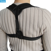 Carego Brace Support Belt Adjustable Back Posture Corrector Clavicle Spine Back Shoulder Lumbar Posture Correction Shoulder цена 2017