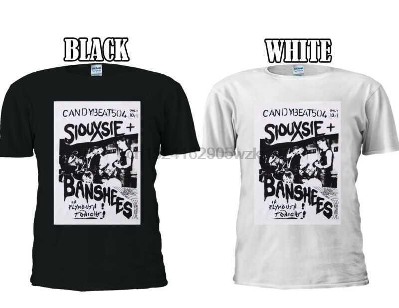 Siouxsie và các banshee Gig ANH T-Shirt Bóng Chày Người Đàn Ông Phụ Nữ Unisex 2702
