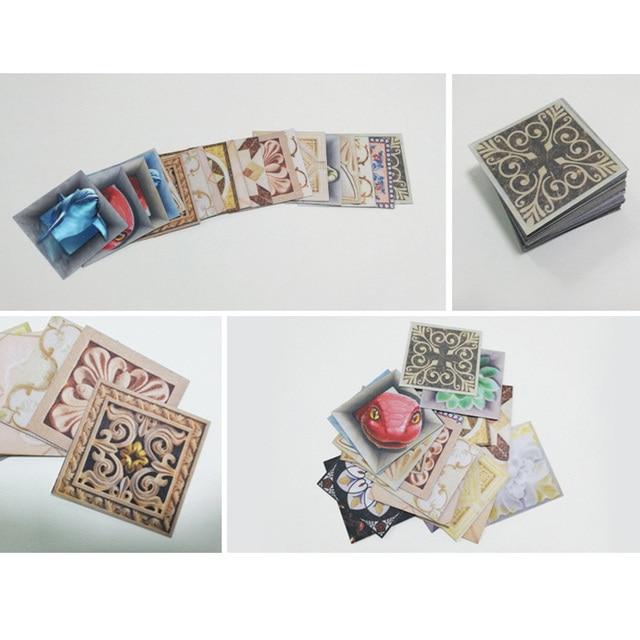 10pcs 8*8cm pvc modern tile sticke