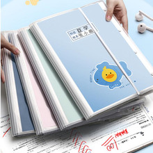 New A4 enclosure A3 Inner 20/30/40 Pages Transparent Insert Folder Document Storage Bag for Bank Campus File Office Student