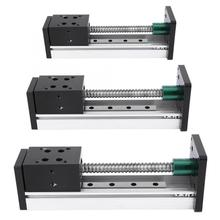 купить 800mm Aluminum Alloy Linear Guide Rail Slide Ball Screw Motion Table Effective Stroke по цене 7652.26 рублей