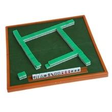 Портативный мини 144 Набор для игры в маджонг мАч Йонг настольная традиционная игра путешествия складная Q6PD