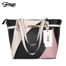 ZMQN Bag Women Patchwork Handbag Women Famous Brands Shoulder Leather Bag For Women Hand Bags Sac Big Capacity Bolsos Mujer A807