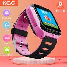 Baby Kids Smart Watch With SOS Call Camera Touch Screen Lighting GPS LBS Smartwatch kids Children VS Q528 Q50 DZ09