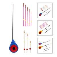 ミニアイス釣竿冬の屋外スポーツポータブル釣竿先端アクセサリー釣竿