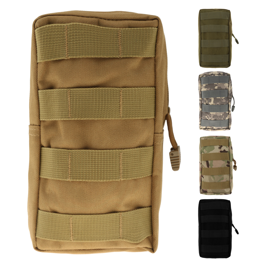 600D Waterproof Military Molle Utility Magazine Pouch Outdoor Accessory Bag For Attaching To Backpack Or Belt