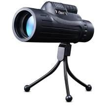 JHOPT – lumière de vision nocturne télescopique macro 10x42, qualité de travail, observation d'oiseaux, étoile portable et simple