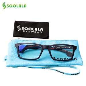 Image 4 - SOOLALA Anti Blue Light Reading Glasses Women Men Blue Light Blocking Computer Glasses Presbyopia Eyewear For Readers Dioper