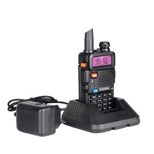 Image 5 - Baofeng UV 5R Walkie Talkie taşınabilir CB radyo istasyonu çift bant UHF VHF av jambon radyo 5W HF telsiz UV5R iki yönlü telsiz