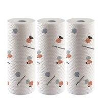 3 Pack Ultra Absorbent Kitchen Paper Towels Eco Friendly Washable Food Oil Absorbing Papers Wet Dry Usage Dish Rag-in Reinigungstücher aus Heim und Garten bei