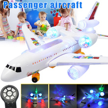 Remote Control Airplane Electric LED Light Music RC Plane Ou
