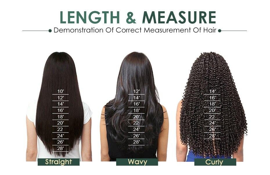 2x6 fechamento remy feixes de cabelo humano