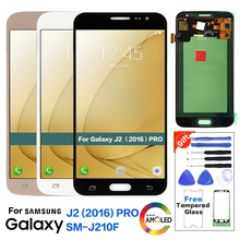 ЖК-дисплей для samsung Galaxy J2() Pro J210 SM-J210F ЖК-дисплей кодирующий преобразователь сенсорного экрана в сборе протестирован