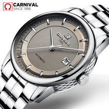Reloj Hombre CARNIVAL Automatic Military Watch Men Luxury Brand Waterproof Fashion Mechanical Wristwatch Clock Relogio Masculino gimto watches men luxury brand clock reloj relogio masculino military quartz watch stainless steel men wristwatch reloj hombre