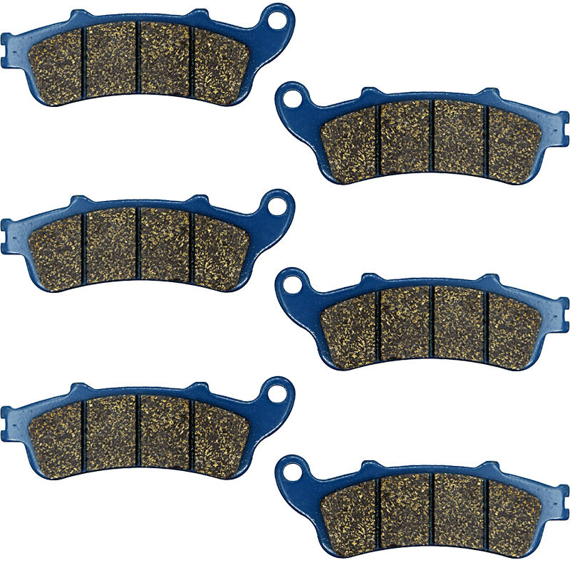 S 1300 Motorcycle Brake Pads For HONDA A2/A3/A4/A6 Pan European (ABS Model) Front Rear S1300