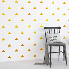 Little Cute Cloud DIY Wall Stickers For Kids Room Nursery Decal Bedroom Home Decoration VA723CN 70pcs/set