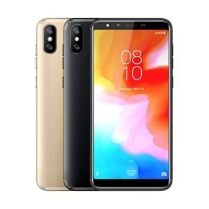 "Image 5 - HOMTOM H5 สมาร์ทโฟน 3GB RAM 32GB ROM 5.7 ""4G LTE MTK6739 Quad Core Android 8.1 13.0MP 3300MAHลายนิ้วมือFace IDโทรศัพท์มือถือ"