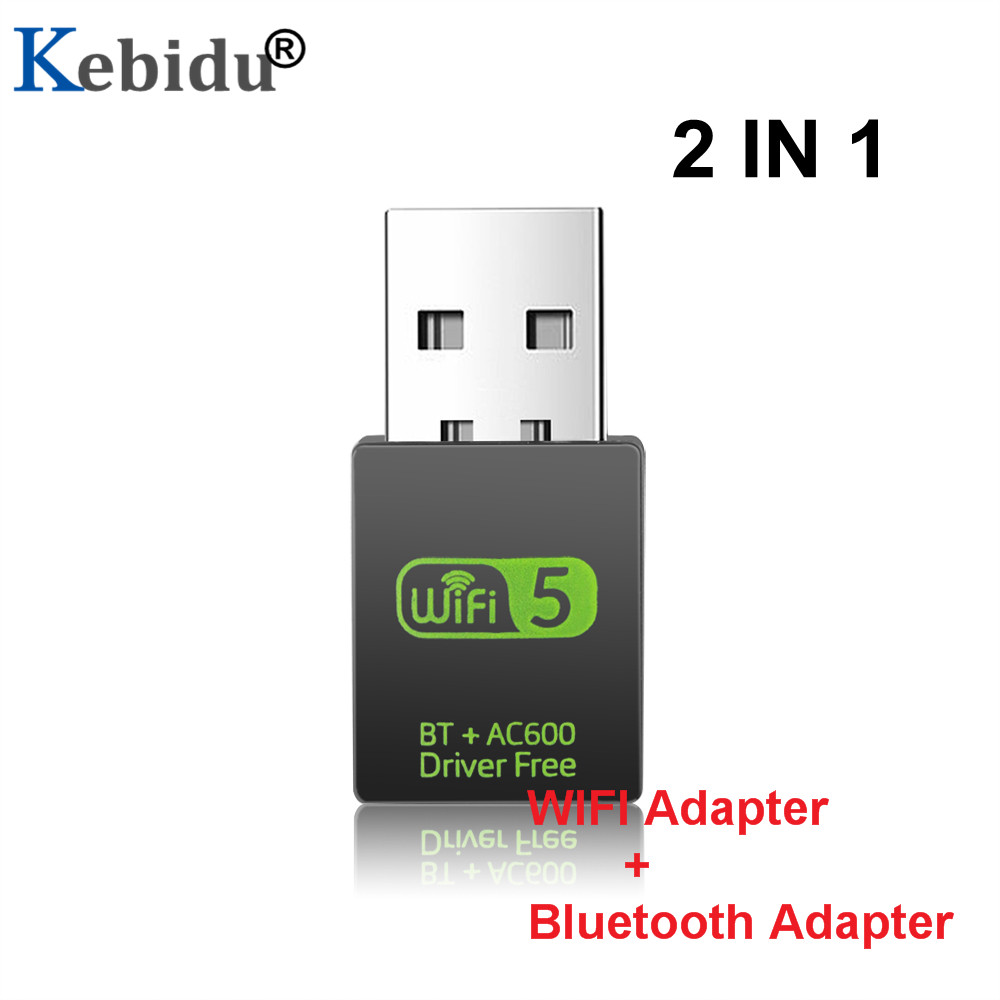 Wifi Adapter Receiver Network-Card 8821cu-Transmitter Bluetooth 600mbps New Wireless title=
