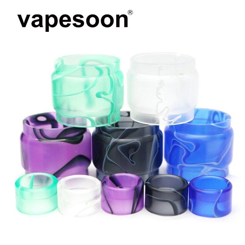 1Set  Replacement Acrylic Tube Colorful Acrylic Glass Tube & Drip Tip Kit For SMOK TFV16 Atomizer Tank High Quality