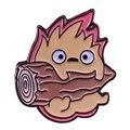 Копия кальцифера из движущегося замка Howl! Любимый страшный мощный огненный демон Everbody в карманном размере